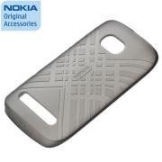 Capa de silicone Nokia CC-1046 para Nokia Lumia 710 - Cor Preta