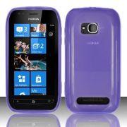 Capa TPU FlexiShield para Nokia Lumia 710 - Cor Lilás