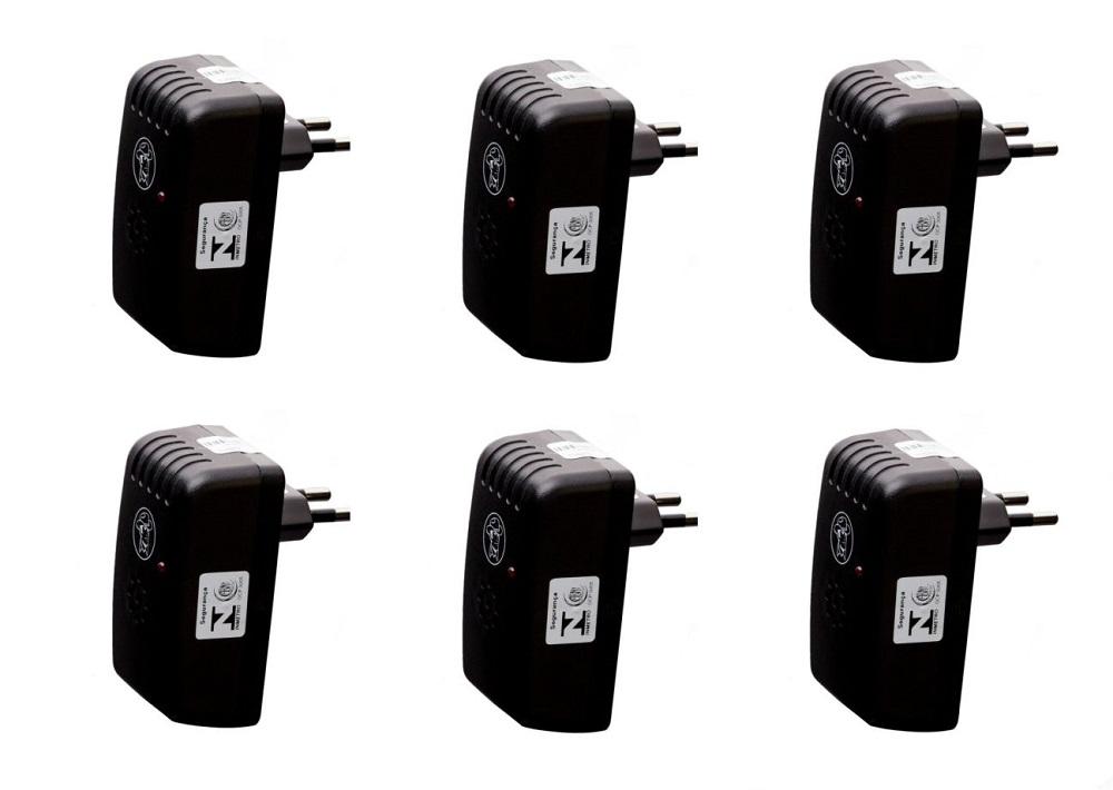 Kit 6 Repelentes Eletrônicos
