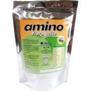 Amino Flora Leite. Caixa com 10 Pacotes Laminados de 1 Kg
