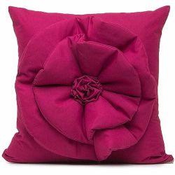 954147788d Capa Almofada Floralle com Zíper 01 Peça Detalhe de Flor - Pitaya
