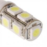 Lâmpada Led 12V Tipo 69 Importado 9 Leds (Par) Amarelo