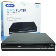 Aparelho Dvd Player Rca 2.0 Canais Usb Mp3 Cd Ripping Display Led Controle Knup Preto KP-D120 Bivolt