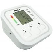 Aparelho Medidor de Pressão Arterial e Pulsação Digital Automático de Braço Com Voz Zoss ZS-B19
