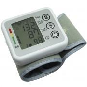 Aparelho Medidor de Pressão Arterial e Pulsação Digital Voz Automático Punho Next Trading ZK-W863PB