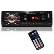 Auto Rádio Som Mp3 Player Automotivo Carro First Option 8620 Fm Sd Usb Controle