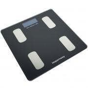 Balança Bioimpedância Corporal Aplicativo Bluetooth Digital Banheiro 180 Kg Importway IWBDBIO-001APP