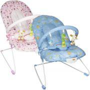 Cadeira Cadeirinha Bebê Descanso Vibratória Musical Menina Menino Macia Importway BW-045