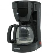 Cafeteira Elétrica 220V 14 Xícaras Café Amvox Nova com Colher Dosadora ACF 227-2 NEW Preta