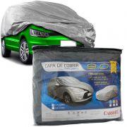 Capa Automotiva Cobrir Carro Protetora Forrada Central Tamanho M Carrhel