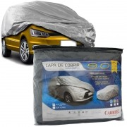 Capa Automotiva Cobrir Carro Protetora Forrada Central Tamanho P M G Carrhel