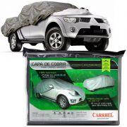Capa Cobrir Caminhonete Picape L200 S10 Hilux Amarok Ranger Forrada XGG Carrhel