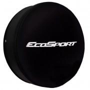 Capa Pneu Roda Estepe Ecosport Universal Cadeado Anti Furto Aro 14 à 17 Carrhel 487 Basic