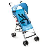 Carrinho de Bebê Passeio Infantil Guarda Chuva Multilaser Weego Way BB507 Azul Menino Reclinável