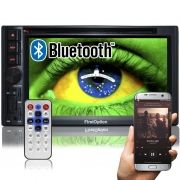 Central Multimídia Dvd 2 Din 6.2 First Option 8805 TV Usb Bluetooth Tv Digital Gps