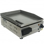 Chapa Lanches Elétrica Grill 30X40 1200W Cozinha Cotherm Profissional Industrial Inox