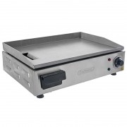 Chapa Lanches Elétrica Grill 50X35 1600W Cozinha Cotherm Profissional Industrial Inox