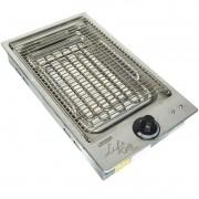 Churrasqueira Elétrica Cooktop Embutir 2000W Inox 110V 127V Cotherm 1941 Life Grill Classic