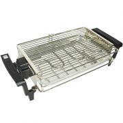 Churrasqueira Elétrica Portátil 1400W Econômica Compacta 110V 127V Cotherm 1231 Summer