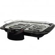 Churrasqueira Elétrica Super Grill Portátil Grelha Regulável na Altura Amvox ACH 1500 Preta