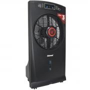 Climatizador Umidificador de Ar Portátil Frio 3 Litros 4 Velocidades 110V 127V Amvox ACL 003 Preto