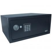 Cofre Digital Eletrônico 43x35x20 Senha Teclado Chave Notebook Grande Importway IWCFS-003 Preto
