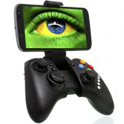 Controle Joystick Celular Bluetooth Manete Android Iphone Ios Tablet Ipad Pc Gamepad Ípega KP-4027