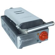 Crepeira Elétrica Profissional Teflon Antiaderente 6 Crepes Suiço Industrial Cotherm 2681 Inox 110V