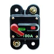 Disjuntor Automotivo 100A Proteção Som Resetável Liga Desliga