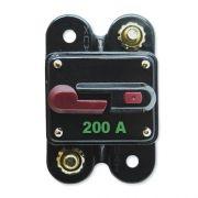 Disjuntor Automotivo 200A Proteção Som Resetável Liga Desliga
