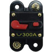 Disjuntor Automotivo 300A Tech One Proteção Som Bateria Resetável Liga Desliga