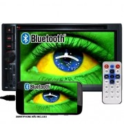 Dvd Automotivo 2 Din 6.2 First Option Multimídia MDI-8805M Usb Bluetooth Tv Digital Gps Espelhamento