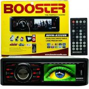 Dvd Automotivo Carro 1 Din Tela 3´´ Booster Usb Sd Aux BDVM-8325UB
