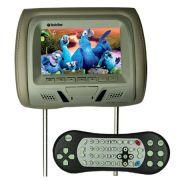 Encosto Cabeça Tela Monitor Leitor Dvd Tech One Standard Cinza