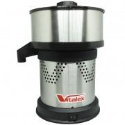Espremedor Extrator Suco Laranja Doméstico 230W Câmara Inox Vitalex ESPI-I Bivolt