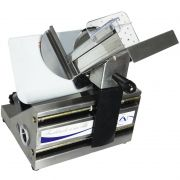 Fatiador Cortador Frios Elétrico Lâmina Inox 170mm Ajuste Espessura 110V 127V Arbel 178 MCX 3.0 Inox