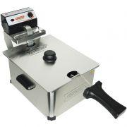 Fritadeira Elétrica com Óleo 5 Litros Industrial Profissional 110V 127V Cotherm 2271 2400W Inox