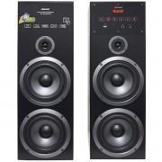 Home Theater Bluetooth 480W Rms Torre 2.0 Usb Fm Caixa Som Amplificada Bivolt Amvox Aca 480