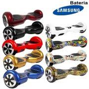 Hoverboard Skate Elétrico 2 Rodas 6,5 Polegadas Bateria Samsung Original Barato