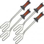 Kit 4 Acendedores Elétrico para Churrasqueiras a Carvão e Lareiras 750W Cotherm AC 500 Inox