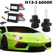 Kit Bi Xenon Carro 12V 35W H13-3 6000K
