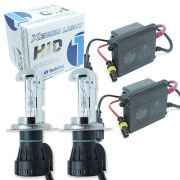 Kit Bi Xenon Carro 12V 35W Tech One H4-3 6000K