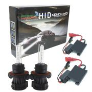 Kit Bi Xenon Hid Carro Farol Reator 12V Lâmpada 35W Importway H13-3 8000K Baixa e Alta