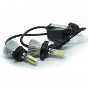 Kit Par Lâmpada Super Led Automotiva Farol Carro 3D H16 8000 Lumens 12V 24V First Option 6000K