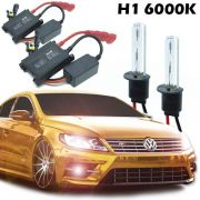Kit Xenon Automotivo Carro H1 6000K 12V com Reator e Lâmpada