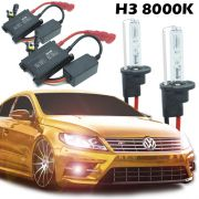 Kit Xenon Carro 12V 35W H3 8000K