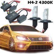 Kit Xenon Carro 12V 35W H4-2 4300K