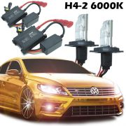 Kit Xenon Carro 12V 35W H4-2 6000K