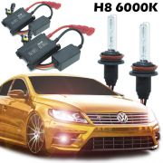 Kit Xenon Carro 12V 35W H8 6000K