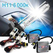 Kit Xenon Carro 12V 35W Importway H11 6000K